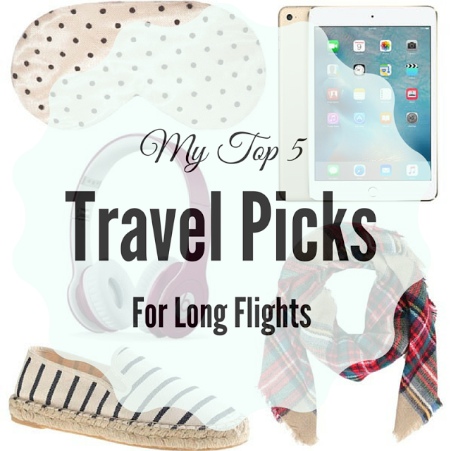 must have travel picks for long flights