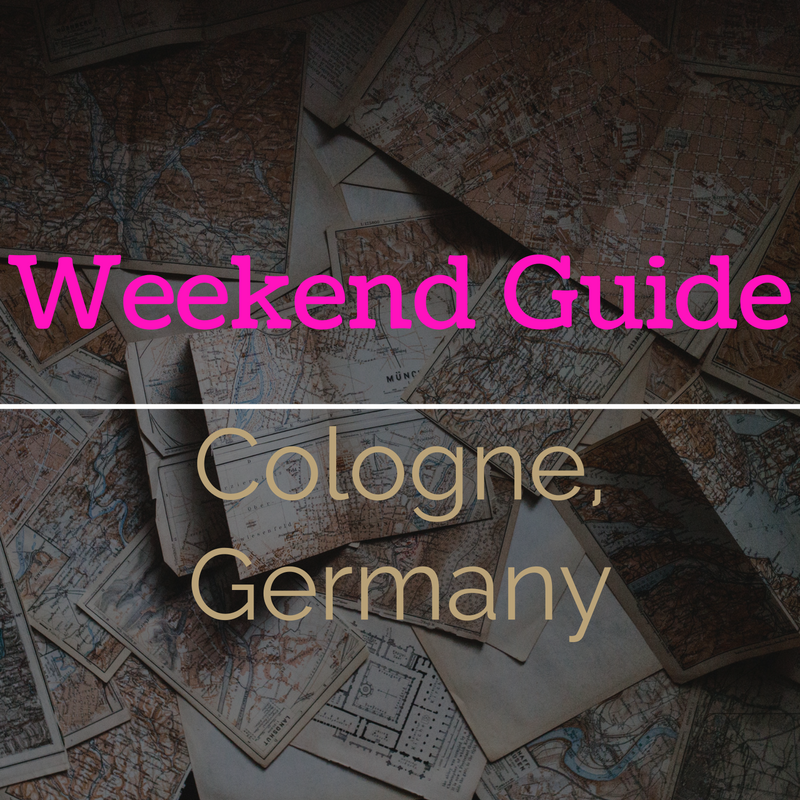 Weekend Guide to Cologne, Germany | That Girl Myra