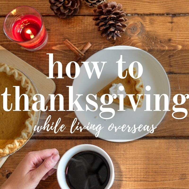 how to thanksgiving while overseas | that girl myra sm